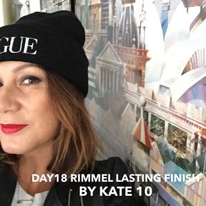 Rimmel Lasting Finish by Kate 10