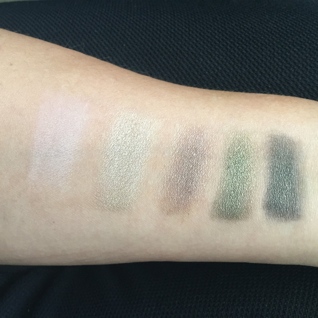 Swatched in natural light
