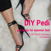 DIY pedi and giveaway