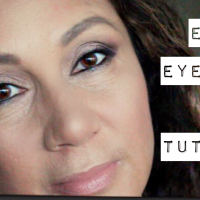 Easy Eyeshadow tutorial for hooded eyes