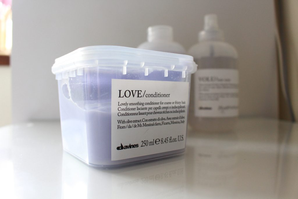 Davines Love Shampoo and Conditioner
