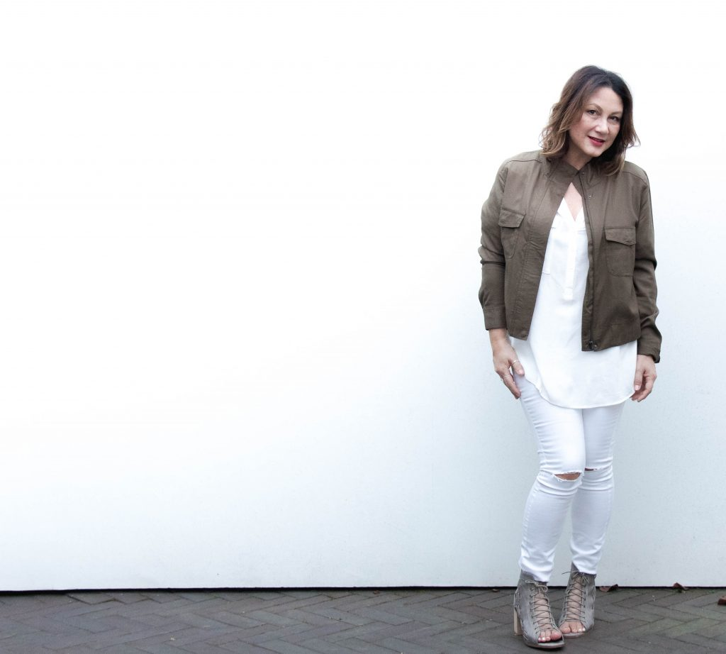 Spring trend Katies White jeans